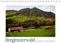 Bregenzerwald fotografiert von Andreas Riedmiller (Tischkalender 2019 DIN A5 quer) von Riedmiller,  Andreas