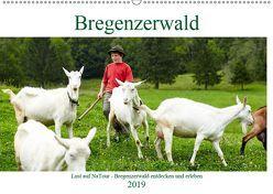 Lust auf NaTour – Bregenzerwald (Wandkalender 2019 DIN A2 quer) von Riedmiller,  Andreas