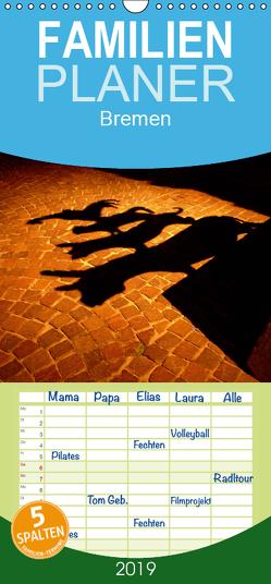 Bremen 2019 – Familienplaner hoch (Wandkalender 2019 , 21 cm x 45 cm, hoch) von M. Laube,  Lucy