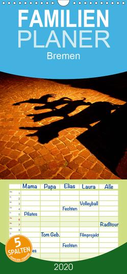 Bremen 2020 – Familienplaner hoch (Wandkalender 2020 , 21 cm x 45 cm, hoch) von M. Laube,  Lucy