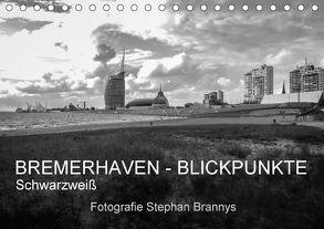 Bremerhaven – Blickpunkte Schwarzweiß (Tischkalender 2018 DIN A5 quer) von Brannys,  Stephan