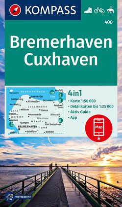 Bremerhaven, Cuxhaven von KOMPASS-Karten GmbH