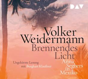 Brennendes Licht. Anna Seghers in Mexiko von Klaußner,  Burghart, Weidermann,  Volker