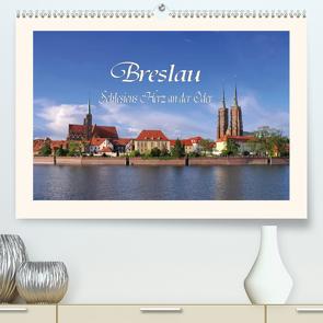 Breslau – Schlesiens Herz an der Oder (Premium, hochwertiger DIN A2 Wandkalender 2021, Kunstdruck in Hochglanz) von LianeM
