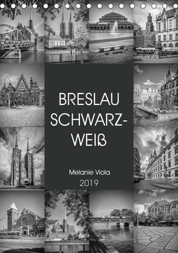 BRESLAU SCHWARZWEIß (Tischkalender 2019 DIN A5 hoch) von Viola,  Melanie