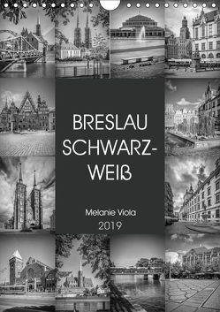 BRESLAU SCHWARZWEIß (Wandkalender 2019 DIN A4 hoch) von Viola,  Melanie
