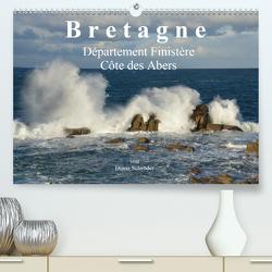 Bretagne. Département Finistère – Côte des Abers (Premium, hochwertiger DIN A2 Wandkalender 2020, Kunstdruck in Hochglanz) von Schröder,  Diana