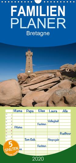 Bretagne – Familienplaner hoch (Wandkalender 2020 , 21 cm x 45 cm, hoch) von Scholz,  Frauke
