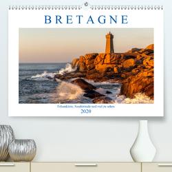 Bretagne – Felsenküste, Sandstrände und viel zu sehen (Premium, hochwertiger DIN A2 Wandkalender 2020, Kunstdruck in Hochglanz) von Sulima,  Dirk