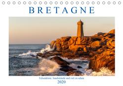 Bretagne – Felsenküste, Sandstrände und viel zu sehen (Tischkalender 2020 DIN A5 quer) von Sulima,  Dirk