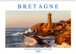 Bretagne – Felsenküste, Sandstrände und viel zu sehen (Wandkalender 2020 DIN A2 quer) von Sulima,  Dirk