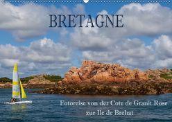 Bretagne – Fotoreise von der Cote de Granit Rose zur Ile de Brehat (Wandkalender 2019 DIN A2 quer) von Pfleger,  Hans