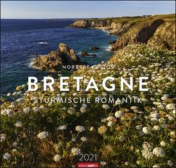 Bretagne Kalender 2021 von Kustos,  Norbert, Weingarten