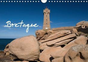 Bretagne (Wandkalender 2018 DIN A4 quer) von Scholz,  Frauke