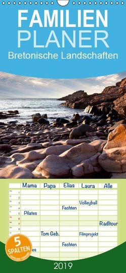 Bretonische Landschaften – Familienplaner hoch (Wandkalender 2019 , 21 cm x 45 cm, hoch) von Schwarz,  Nailia