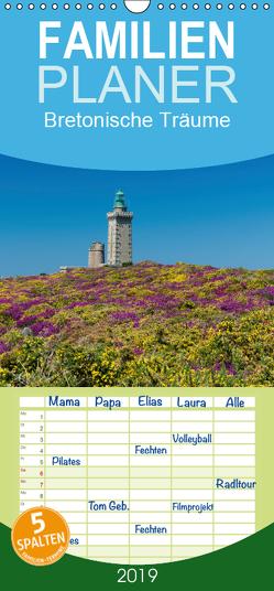Bretonische Träume – Familienplaner hoch (Wandkalender 2019 , 21 cm x 45 cm, hoch) von Blome,  Dietmar