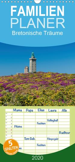 Bretonische Träume – Familienplaner hoch (Wandkalender 2020 , 21 cm x 45 cm, hoch) von Blome,  Dietmar