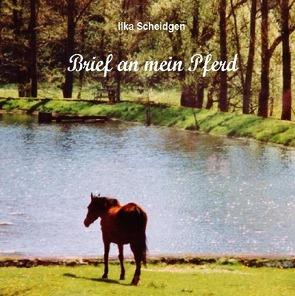 Brief an mein Pferd von Scheidgen,  Ilka