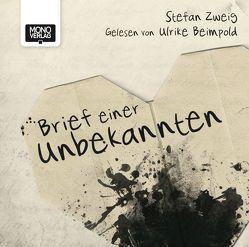Brief einer Unbekannten von Beimpold,  Ulrike, Zweig,  Stefan