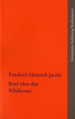 Brief über den Nihilismus von Göcergi,  Perihan, Jacobi,  Friedrich Heinrich, Radrizzani,  Ives