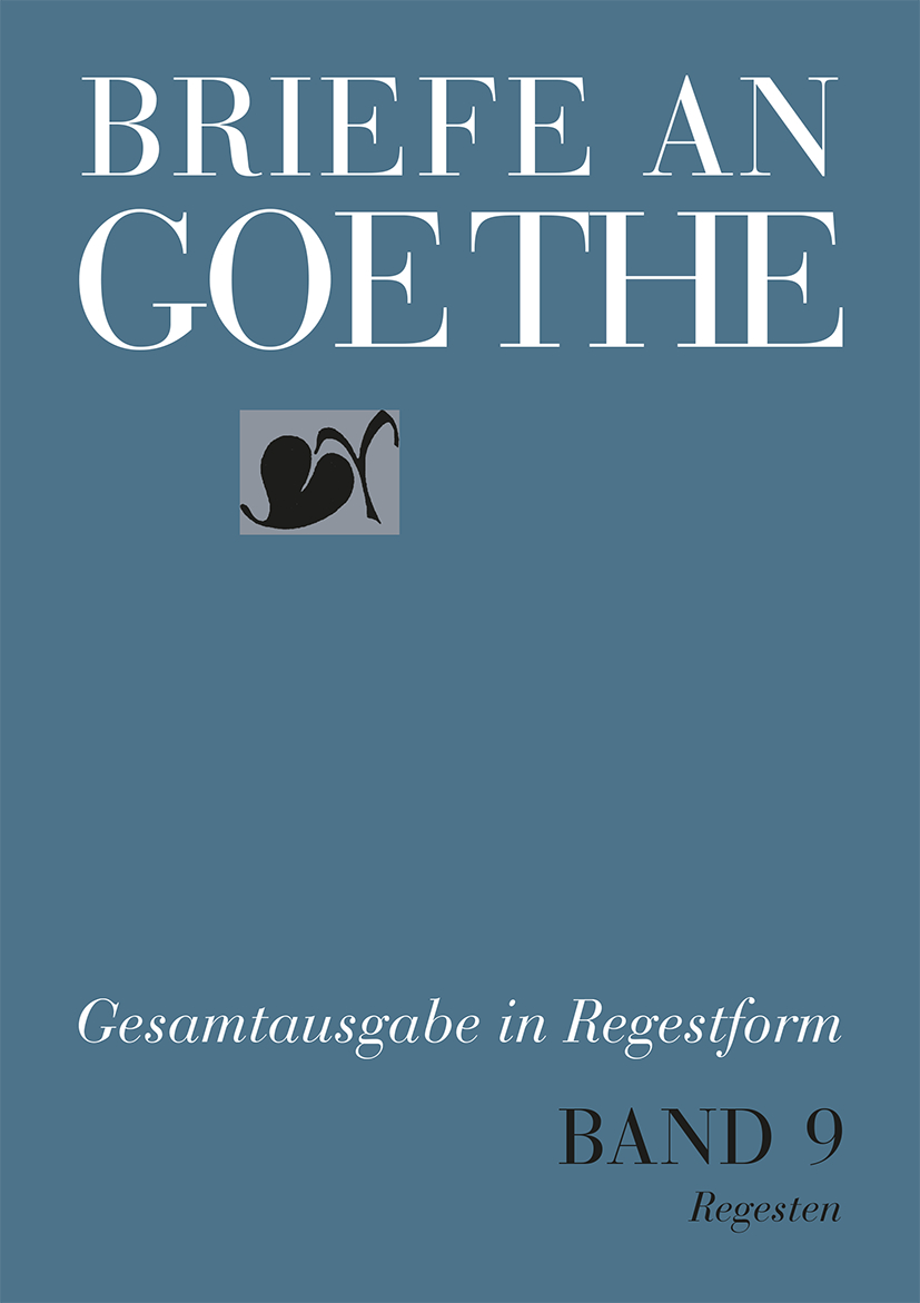 Briefe Von Schiller An Goethe : Briefe an goethe von bischof ulrike hain christian