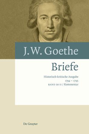 Johann Wolfgang von Goethe: Briefe / Briefe 1794 – 1795 von Eckle,  Jutta, Kurscheidt,  Georg