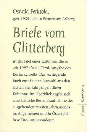 Briefe vom Glitterberg von Perktold,  Oswald