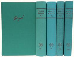 Briefe von und an Hegel von Hegel,  Georg Wilhelm Friedrich, Hoffmeister,  Johannes, Nicolin,  Friedhelm