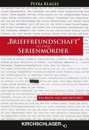 """""""Brieffreundschaft"""" mit einem Serienmörder von Klages,  Petra, Pundt,  Christian"""