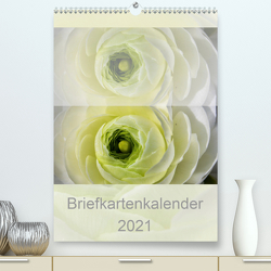 Briefkartenkalender (Premium, hochwertiger DIN A2 Wandkalender 2021, Kunstdruck in Hochglanz) von Renken,  Erwin