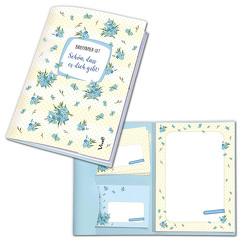Briefpapier-Set »Schön, dass es dich gibt!«