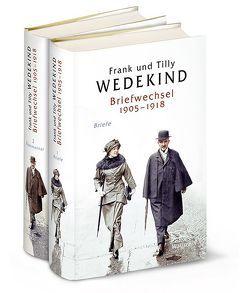 Briefwechsel 1905-1918 von Vincon,  Hartmut, Wedekind,  Frank, Wedekind,  Tilly