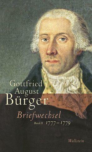 Briefwechsel von Bürger,  Gottfried August, Joost,  Ulrich, Wargenau,  Udo