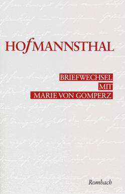 Briefwechsel Hugo von Hofmannsthal – Marie von Gomperz von Tanzer,  Ulrike