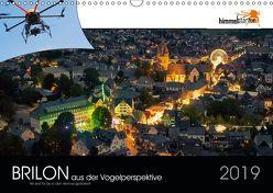 Brilon aus der Vogelperspektive (Wandkalender 2019 DIN A3 quer) von Inh. Sandra Finger,  himmelstarter