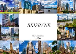 Brisbane Stadtansichten (Wandkalender 2020 DIN A2 quer) von Meutzner,  Dirk