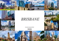 Brisbane Stadtansichten (Wandkalender 2020 DIN A3 quer) von Meutzner,  Dirk
