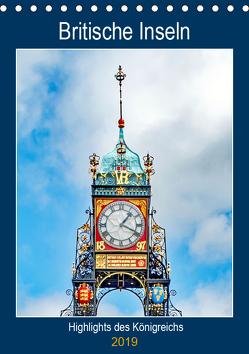 Britische Inseln – Highlights des Königreichs (Tischkalender 2019 DIN A5 hoch) von Schwarze,  Nina