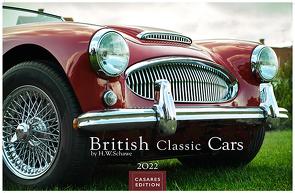 British Classic Cars 2022 L 35x50cm von Schawe,  Heinz-werner