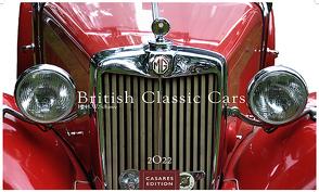 British Classic Cars 2022 S 24x35cm von Schawe,  Heinz-werner