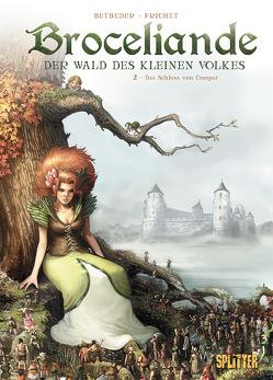 Broceliande – Der Wald des kleinen Volkes. Band 2 von Betbeder,  Stéphane, Frichet,  Paul
