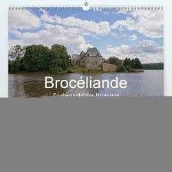 Brocéliande / Zauberwald der Bretagne (Premium, hochwertiger DIN A2 Wandkalender 2021, Kunstdruck in Hochglanz) von Nitzold-Briele,  Gudrun