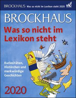 Brockhaus Was so nicht im Lexikon steht Kalender 2020 von Breitenfeldt,  Tom, Harenberg, Heimannsberg,  Joachim