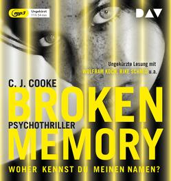 Broken Memory von Blum,  Gabriele, Cooke,  C. J., Koch,  Wolfram, Schmid,  Rike, Wallbaum,  Susanne