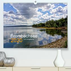 Brombachsee und Umgebung (Premium, hochwertiger DIN A2 Wandkalender 2020, Kunstdruck in Hochglanz) von May,  Ela