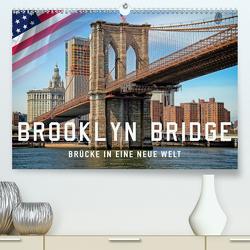 Brooklyn Bridge – Brücke in eine neue Welt (Premium, hochwertiger DIN A2 Wandkalender 2020, Kunstdruck in Hochglanz) von Roder,  Peter