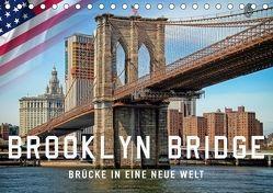 Brooklyn Bridge – Brücke in eine neue Welt (Tischkalender 2018 DIN A5 quer) von Roder,  Peter