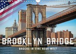 Brooklyn Bridge – Brücke in eine neue Welt (Wandkalender 2018 DIN A4 quer) von Roder,  Peter