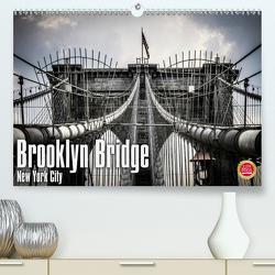 Brooklyn Bridge – New York City (Premium, hochwertiger DIN A2 Wandkalender 2020, Kunstdruck in Hochglanz) von Pinkoss Photostorys,  Oliver