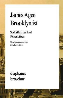 Brooklyn ist von Agee,  James, Koch,  Sven, Stumpf,  Andrea